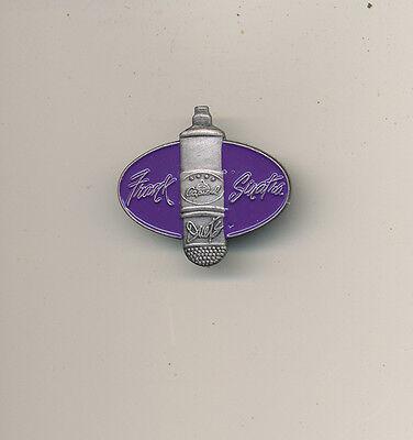 Frank Sinatra Duets RARE promo shaped lapel pin '93