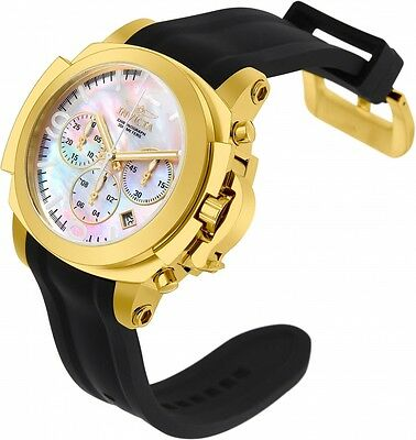@NEW Invicta 54mm Man of War Quartz Chronograph Mother-of-Pearl Watch 22278