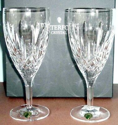 Waterford Lismore Nouveau Iced Beverage Set of 2 #154043 New in Box ()