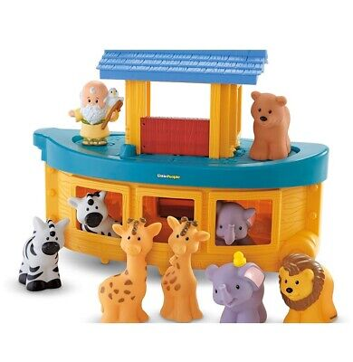 Fisher-Price Little People Noah's Ark, Frustration Free Packaging, Open Box