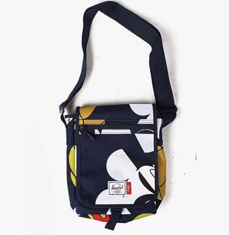 HERSCHEL X DISNEY Mickey Mouse Lane Small Crossbody Messenger Bag Purse NWT