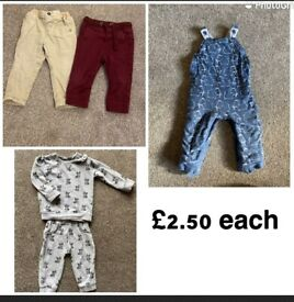 9-12 months baby clothes outfits