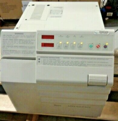 Midmark Ritter M9d Autoclave Steam Automatic Sterilizer - Used