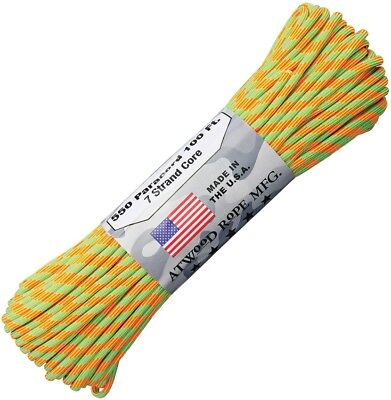 Ropes, Cords & Slings 5mm Elastic Bungee Rope Shock Cord White & Blue Fleck Fast Color