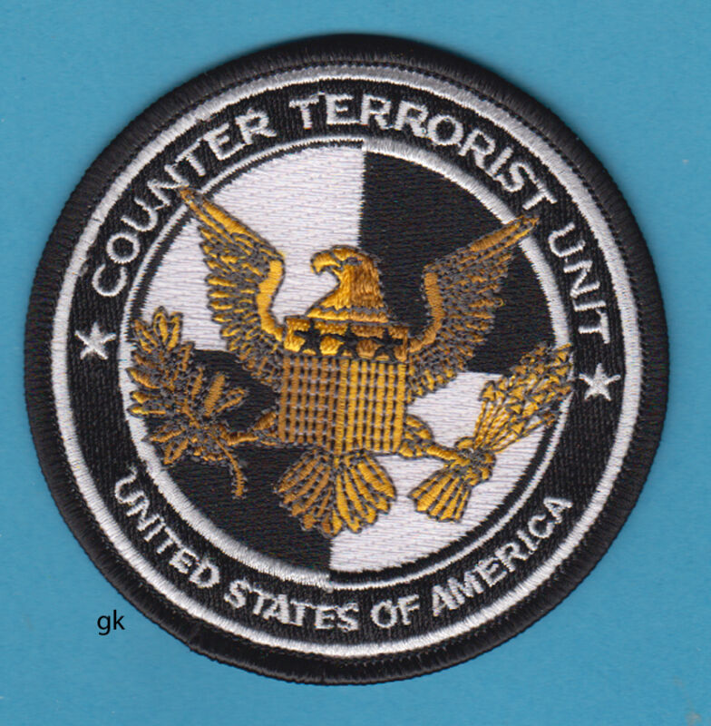 COUNTER TERRORIST UNIT SHOULDER  PATCH