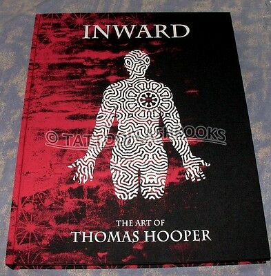 Inward: The Art of Thomas Hooper Edited by Miki Vialetto TATTOO FLASH BOOK