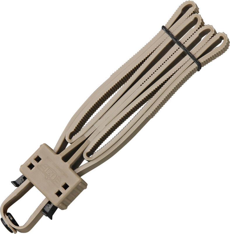 New Uzi Disposable Flex Cuffs UZIFLXCTAN