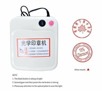 220v Rubber Stamp Making Machine Diy Photopolymer Plate Exposure Unit Stamp Make