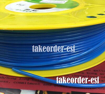 18 Polyurethane Pu Pneumatic Air Compressor Tube Pipe Hose 5 Meter Blue