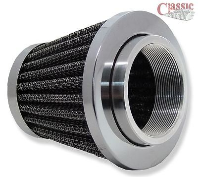SPIN ON MOTORCYCLE AIR FILTER 389 CARBURETTOR 44MM CLASSIC BSA TRIU