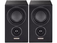 Mission LX-1 Surround Sound Speakers - Black Veneer - Brand New in Box