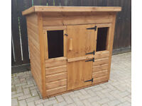 Childrens Wooden Play House/Wendy Dog Kennel Rabbit Hutch