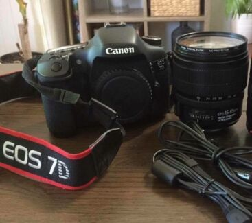 Wanted: Canon 7D with lens