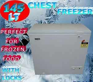 Brand new - Eurotag 145lt lockable chest freezer - warranty! South Yarra Stonnington Area Preview