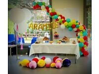 Balloon Decoration / Chair cover hire / Birthday Decoration / Wedding Decoration