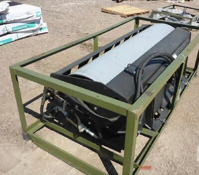 74 Skidsteer Hydraulic Vibratory Roller Attachment Dirt Compactor Cat Bobcat