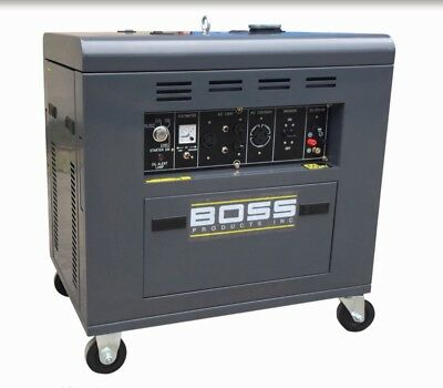 8800 watts Generator Diesel Portable Boss Precision Product