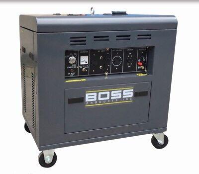 8800 Watts Generator Diesel Portable Boss Precision Product