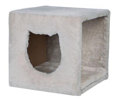 Regal Plüsch (TRIXIE Kuschelhöhle für Regal 37 x 33 x 33 cm lichtgrau Katzenhöhle Höhle Katze)