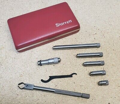 Starrett No. 823 - Inside Micrometer 1 12 To 8 With Protective Case