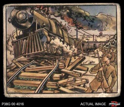 1938 Horrors of War #102 Chinese Guerillas Wreck Supply Trai Standard 1.5 - -