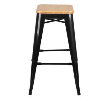Tolix Magnetic Stool Cushion Pad Black Stools Bar stools