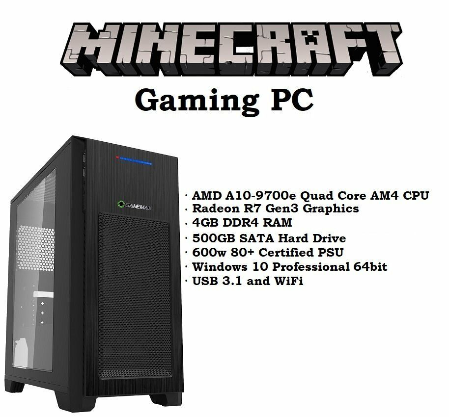 Boxed Quad Core Gaming PC with Radeon GPU and Windows 10 Professional | in  Clydebank, West Dunbartonshire | Gumtree