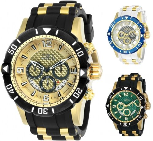 Купить Invicta - Invicta Men's Pro Diver Chronograph 50mm Gold-Tone Watch - Choice of Color
