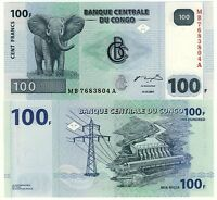 Congo 100 Francs 2007 Fds - Unc -  - ebay.it
