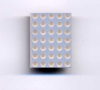 Hp Hdsp-m103 Big Red Led 5 X 7 Dot Matrix Common Row Cathode Display
