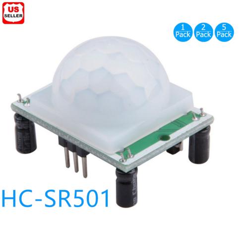 New HC-SR501 Small PIR Sensor Module Pyroelectric Infrared Body Motion Sensing Business & Industrial