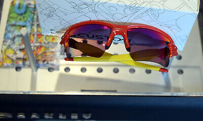 OAKLEY Custom Shop - Flak 2.0 XL - red team yellow - RUBY iridium - sunglasses  (Oakley Sunglass Shop)