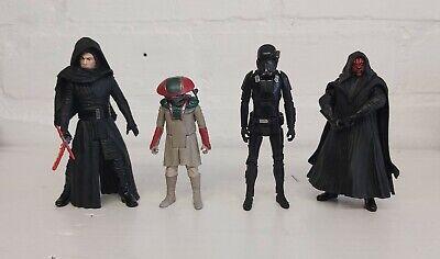 Star Wars Figures bundle x 4 Last Jedi Kylo Ren, Darth Maul, Death trooper