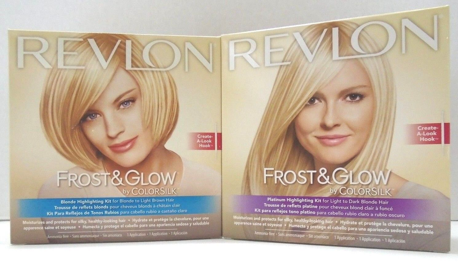 Revlon Frost Glow Highlighting Kit 2 Kinds Free