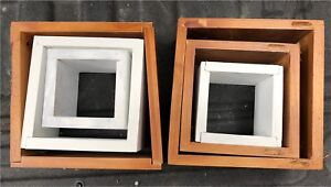 Nesting boxes wall hangers