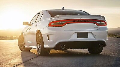 FOR DODGE CHARGER Painted Hellcat  Spoiler Wing 2011-2014