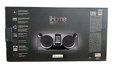 iHome Studio Series iP1 Speaker System With Bongiovi Acoustics DSP.