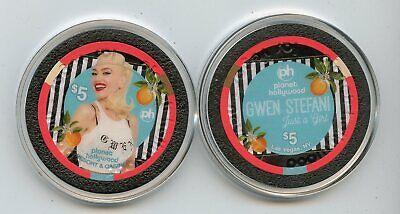 $5 Planet Hollywood Gwen Stefani Just a Girl Residency LAS VEGAS CASINO CHIP