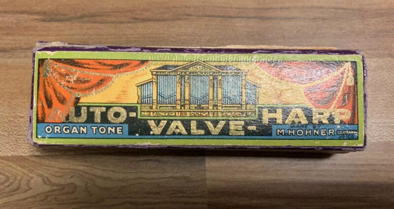 Vintage Auto-Valve-Harp Organ Tone M Hohner Germany Harmonica
