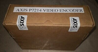 Axis P7214 Video Encoder - 0417-004 Newsealed