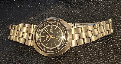 Seiko Vintage Watch 6119-6400 on genuine Seiko vintage bracelet runs well
