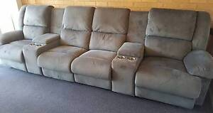 4 seater recliner theatre lounge - price reduced Singleton Heights Singleton Area Preview