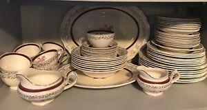 set de vaisselle antique - antique chinaware