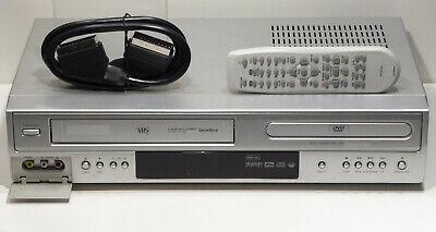 HiFi VHS Videorecorder mit DVD Player Kombigerät Fernbedienung /