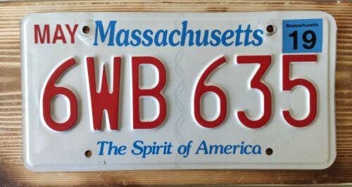 USA Nummernschild/Kennzeichen/license plate/US car/Harley/* Massachusetts *