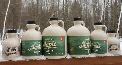 2019 Pure Vermont Maple Syrup-Grade A Golden -Ltd Quantities ()