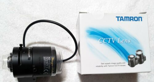 "Tamron M12VG412 C1/2"" 4-12mm F/1.4 DC Auto Iris W/Connector"