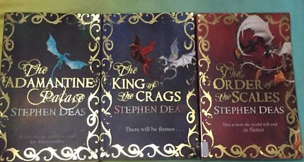 Complete Memory of Flames Trilogy by Stephen Deas