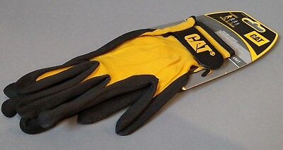 Cat Gloves Cat017416j Jumbo Yellow Nitrile Gloves X-large Free Shipping