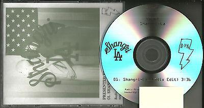 YACHT Shangri la  w/RARE EDIT TRK TST PRESS PROMO Radio DJ CD single MINT USA